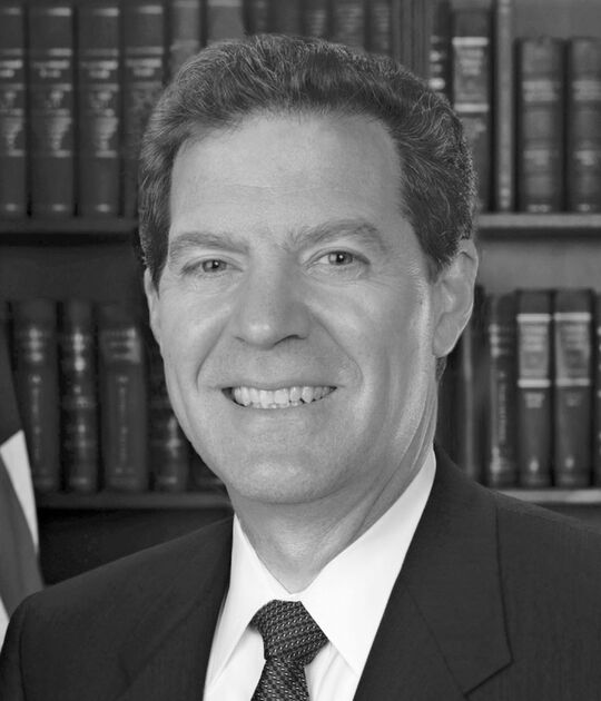 Sam Brownback portrait image